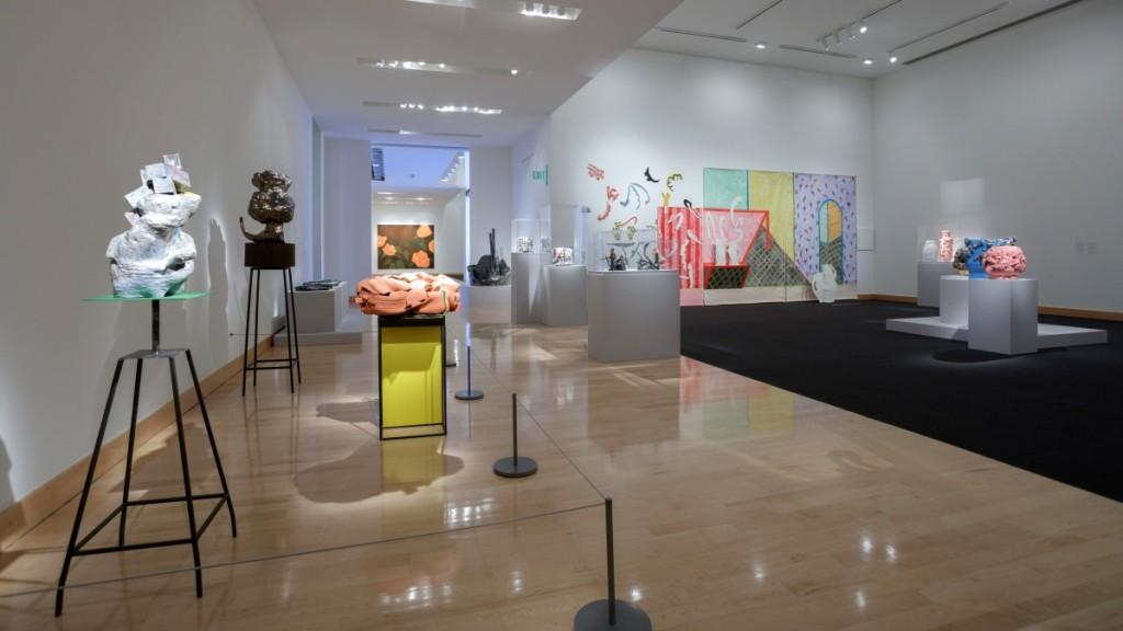 Installation view, Boca Raton Museum of Art. —Jacek Gancarz photo