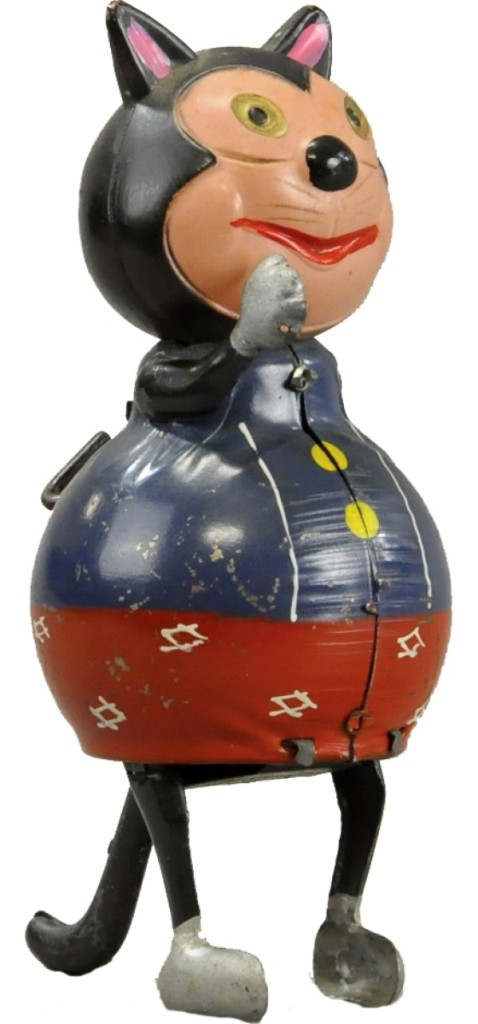 Japanese tin toy.