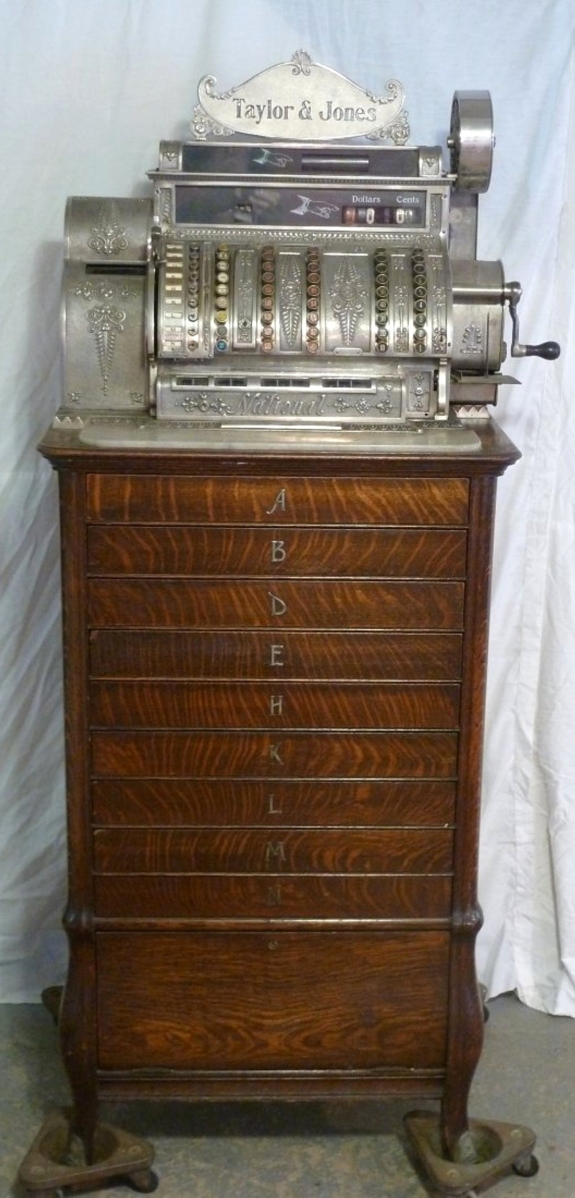 Monney's National Cash Register