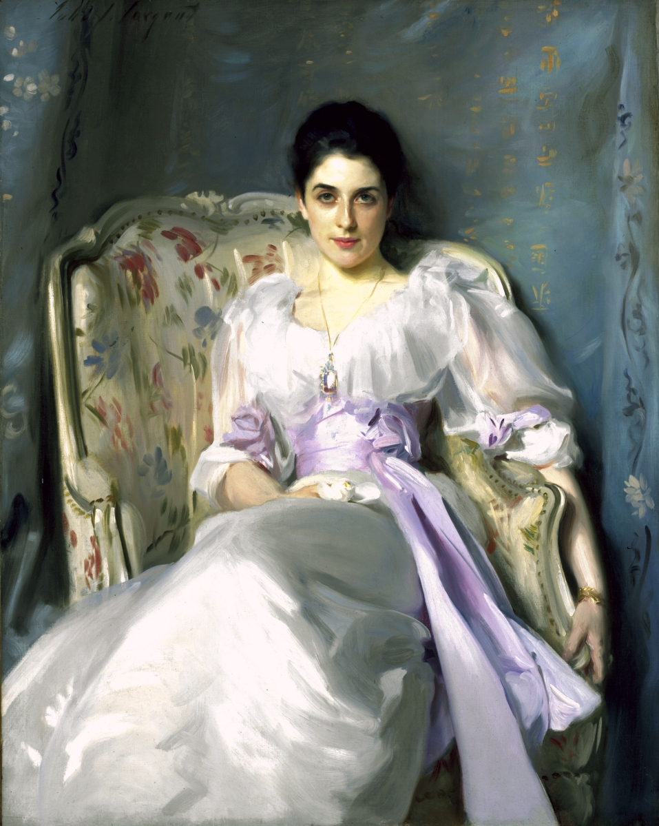 """Lady Agnew of Lochnaw (1865–1932)"" by John Singer Sargent, 1892, oil on canvas, 50 by 39¾ inches. Photo courtesy Scottish National Gallery."