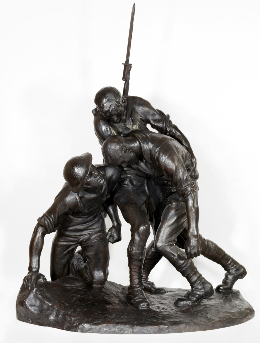 Model for Washington Heights and Inwood Memorial, New York, modeled 1921–22, cast 1922. Private collection.   —Jacek Gancarz photo