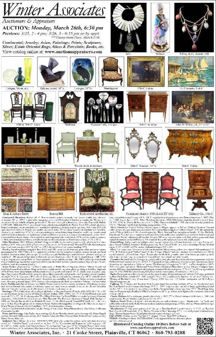 de10c3a1e Antiques Auction   Art Auction   Art Exhibition - Antiques & The Arts