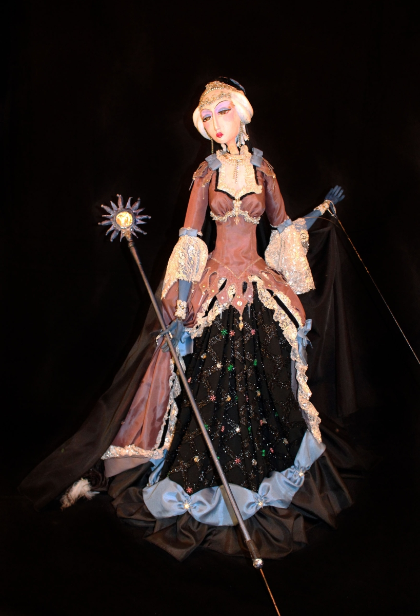Queen of the Night on a Cloud from The Magic Flute, Frank Ballard, 1986. Wood, neoprene and fabric. Courtesy Ballard Institute and Museum, University of Connecticut.