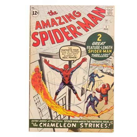 AB Alex Cooper Spider-Man Comic