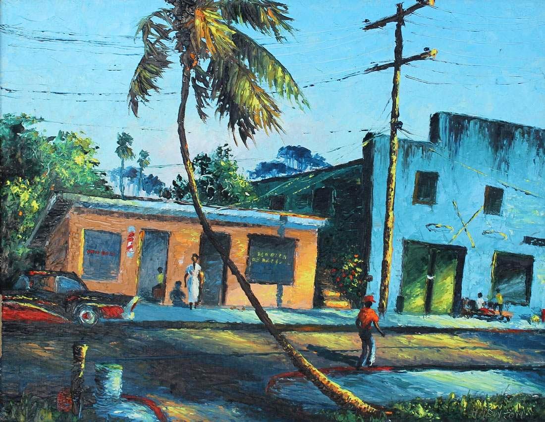 AB Burchard Gardens Highwaymen Paintings