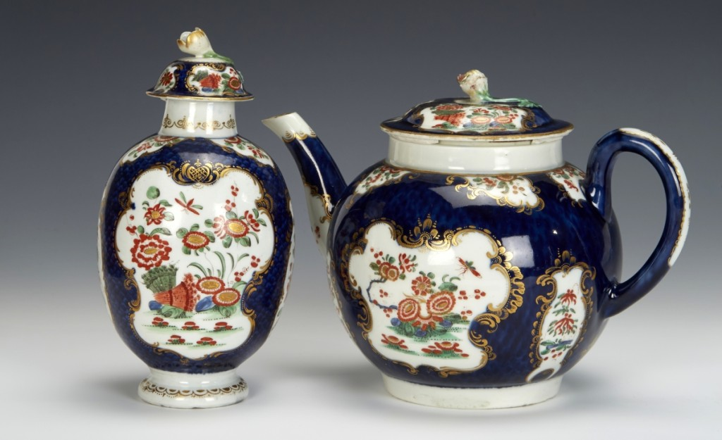 Bramble Tea Caddy Collection #1