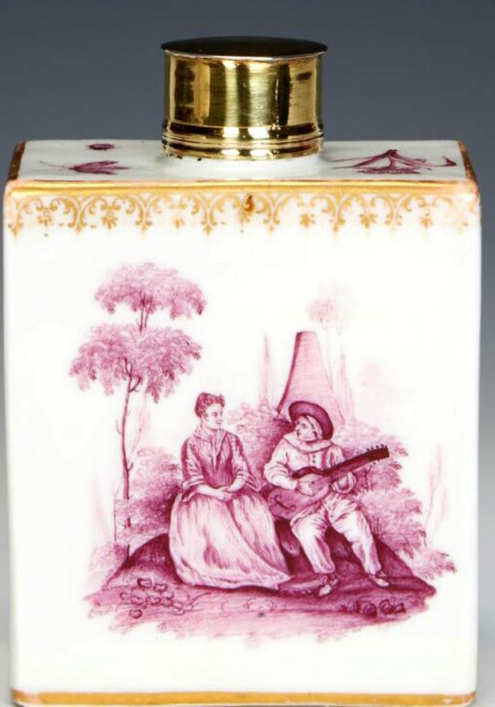 Bramble Tea Caddy Collection #16