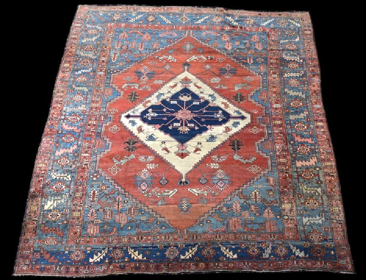 DeStories knew this was a good Heriz carpet when he took it in, and it defied his expectations, finishing at $9,600 on a $5,000 high estimate.