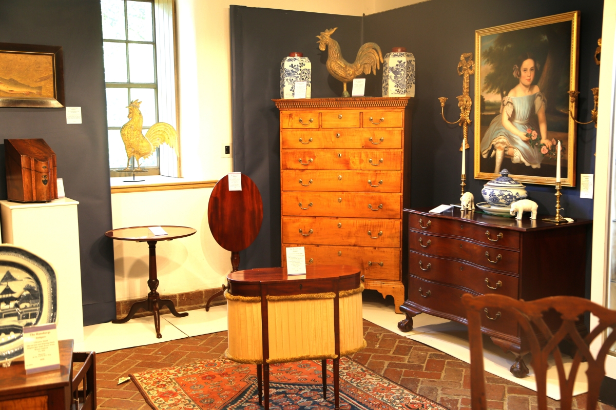The Hanebergs Antiques, East Lyme, Conn.