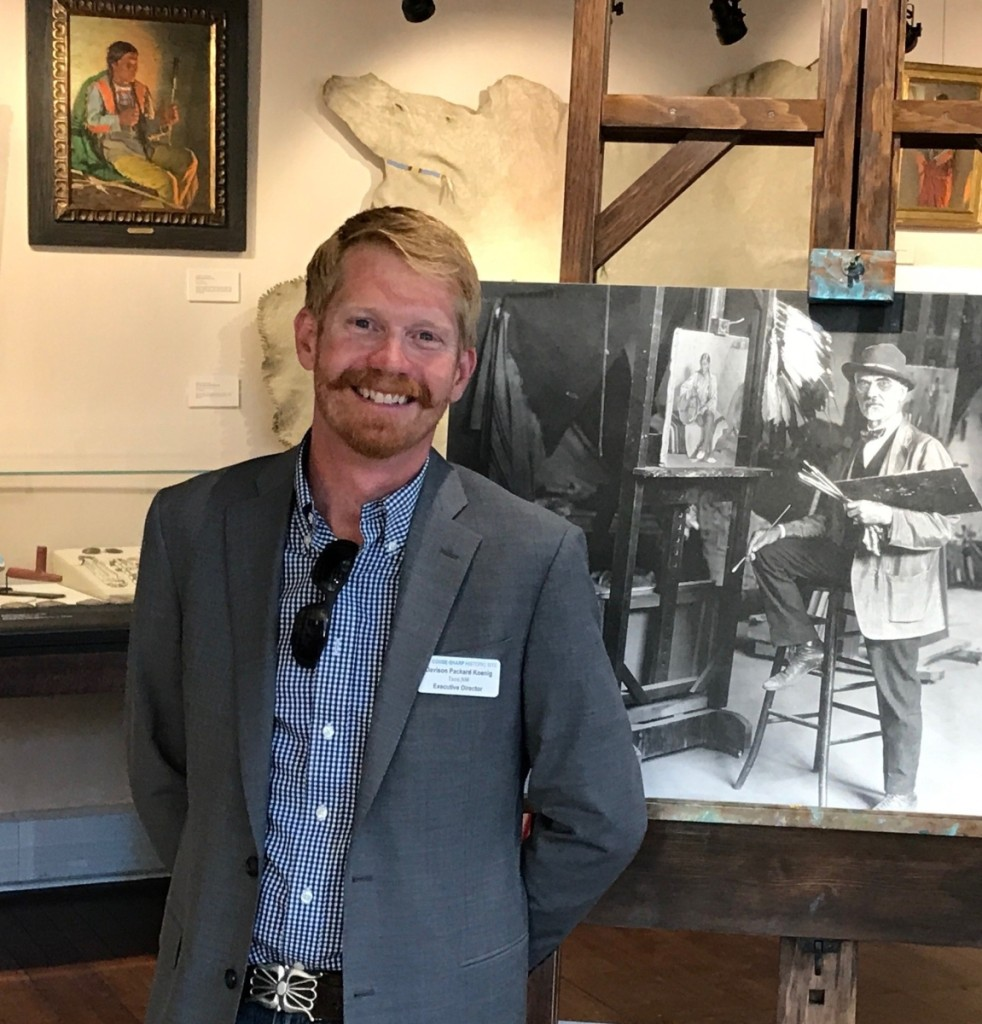 Davison Koenig is executive director and curator of the Couse-Sharp Historic Site.