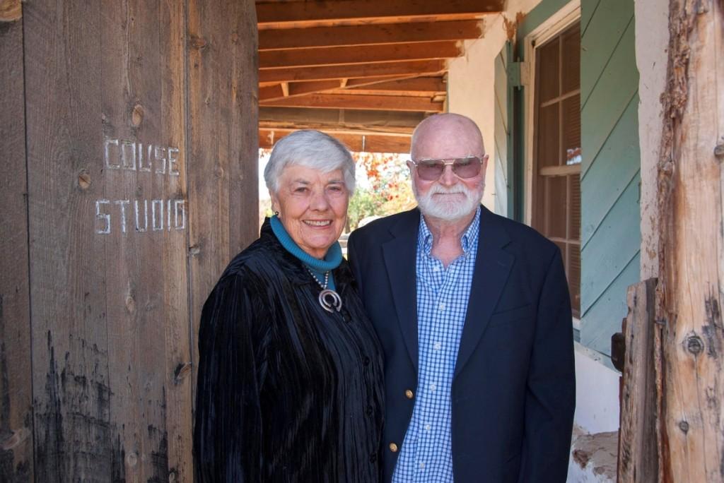 Virginia Couse Leavitt and the late Ernie Leavitt. Photo Lenny Foster.