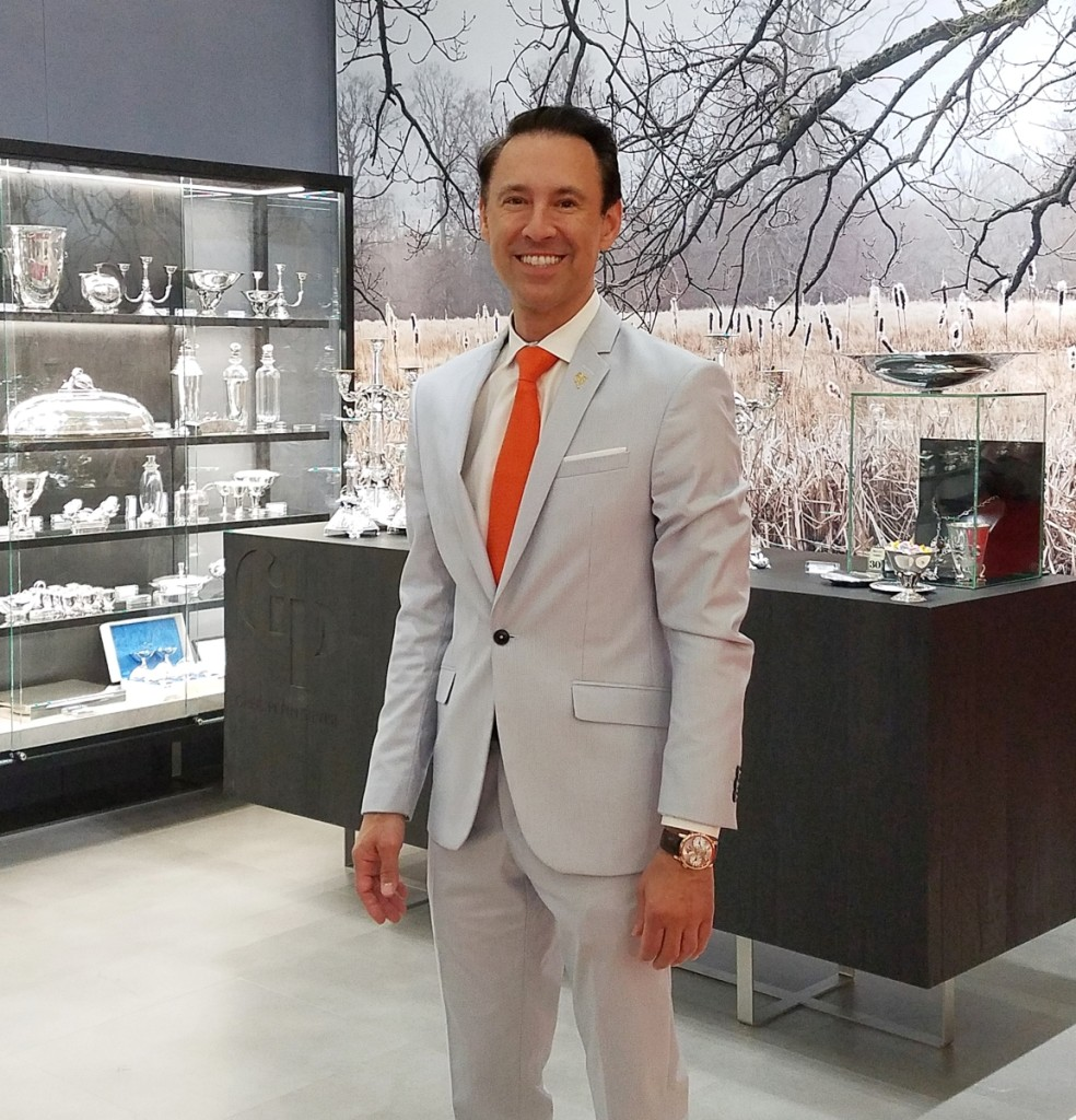 Scott Diament, president and chief executive officer of the Palm Beach Show Group at the Baltimore Art, Antiques & Jewelry Summer Show.