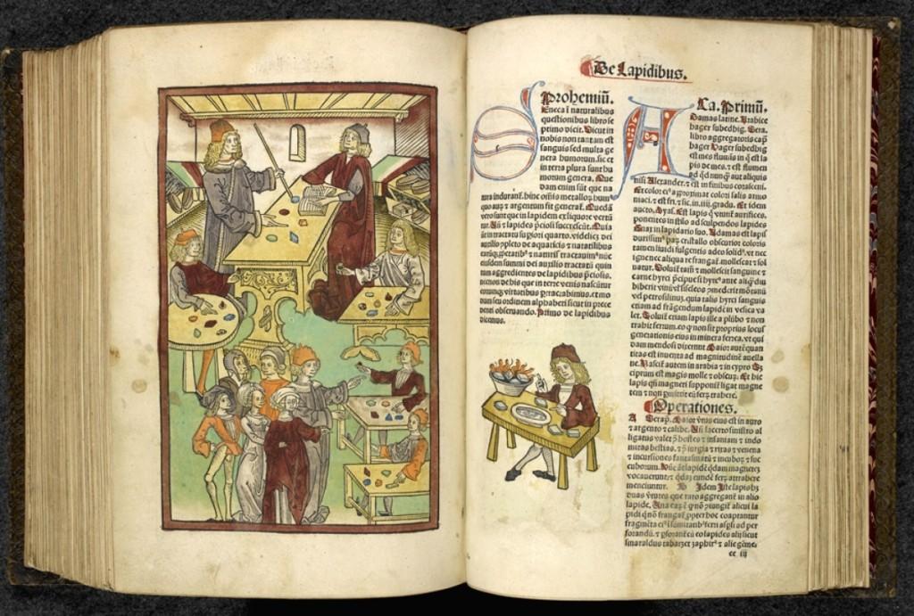 Ortus Sanitatis by Jacob Meydenbach, (Strasbourg, 1491).   Courtesy British Library Board.