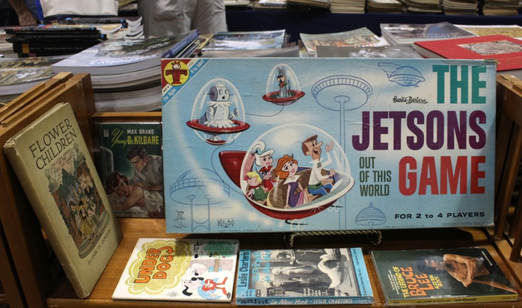 Vintage board games were not selling well for Michael Peters, South Hadley, Mass. So what was selling? we asked — black light posters, a World War I poster and vintage magazines, he replied.