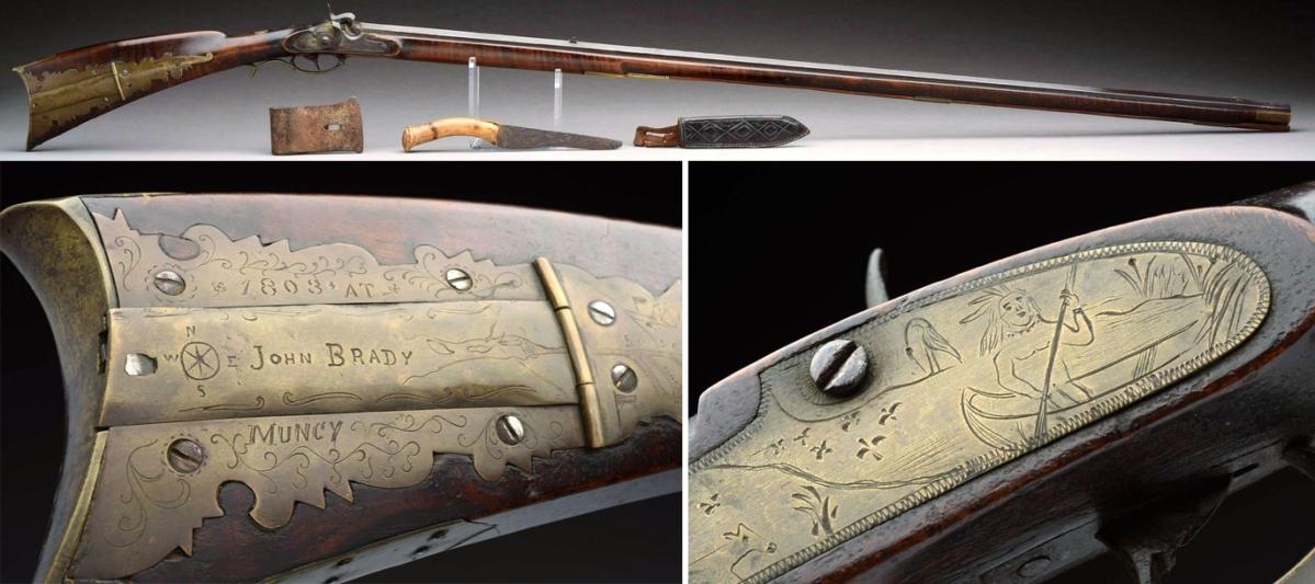 Hot Muzzles: Walter O'Connor Historical Americana Collection