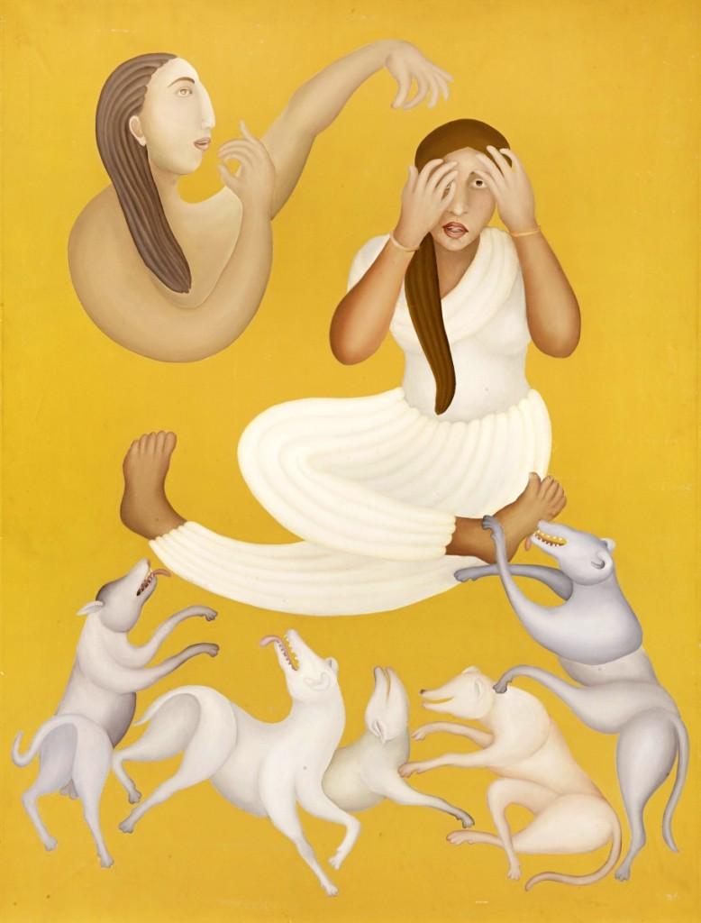 AB Bonhams MANJIT BAWA painting