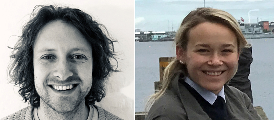 Left, Mads Hallas Bjerg, co-founder of Mearto.com. Right, Lindsay Simon, head of valuations at Barnebys/ValueMyStuff.