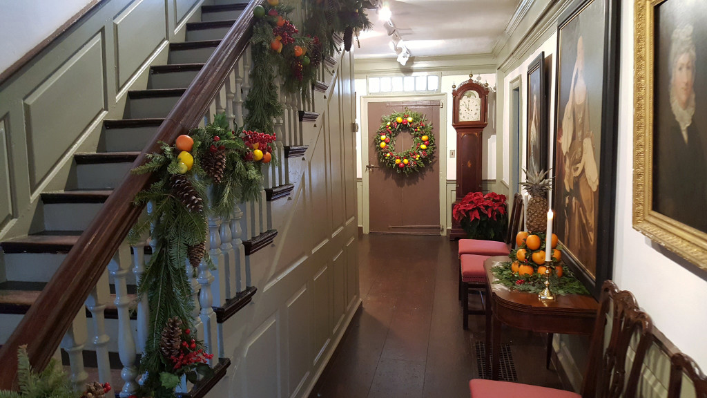 Decorations in the Joseph Webb House are typical of the early Twentieth Century. Courtesy Webb-Deane-Stevens Museum.