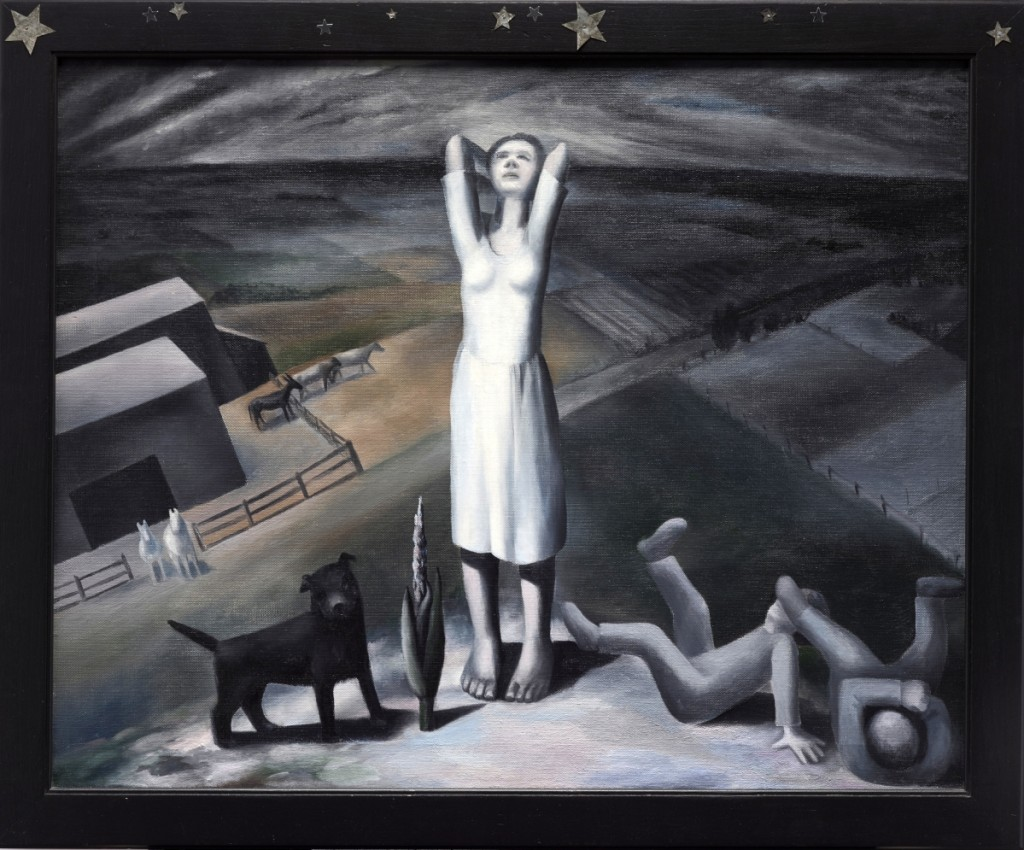 """Star Gazing in Texas"" by Ida Ten Eyck O'Keeffe, 1938, oil on canvas, Dallas Museum of Art, general acquisitions fund and Janet Kendall Forsythe fund in honor of Janet Kendall Forsythe on behalf of the Earl A. Forsythe family, 2017.36."