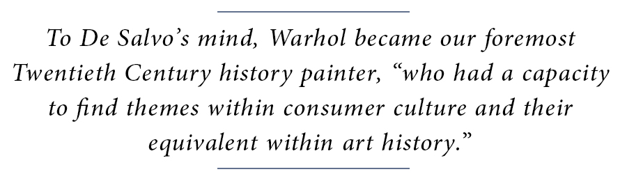 Andy Warhol Block Quote