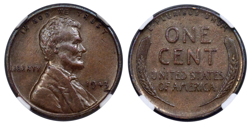 A 1943 Lincoln penny sold for $204,000.