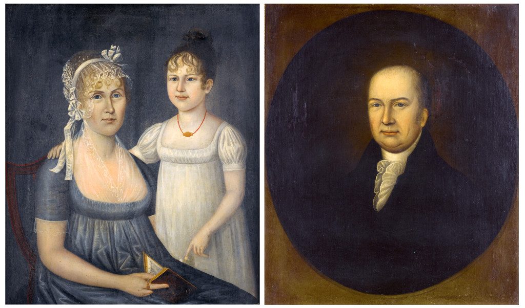 Joshua Johnson proved very popular this season, with this pair of family portraits of Dr and Mrs Andrew Aitkin and their daughter, Eliza, bringing the top price of any sale conducted at Sotheby's during Americana Week. Consigned from a private Maryland collection, the family portraits sold for $675,000, more than ten times their low estimate ($60/80,000), and set a new record for the artist.