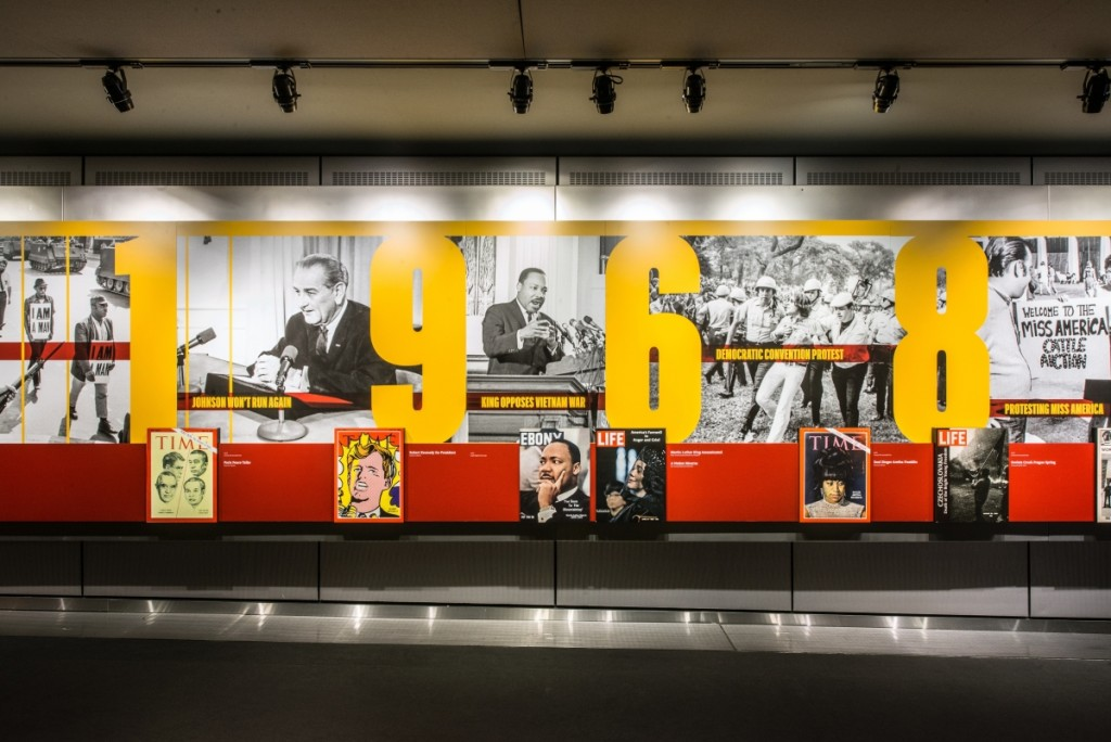 """Newseum Museum, """"1968: Civil Rights at 50."""" Photo Credit: Kevin Allen/Newseum."""