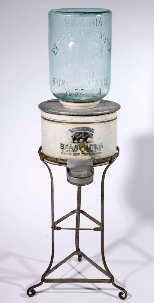 AB Jeff Evans Bear Water Dispenser