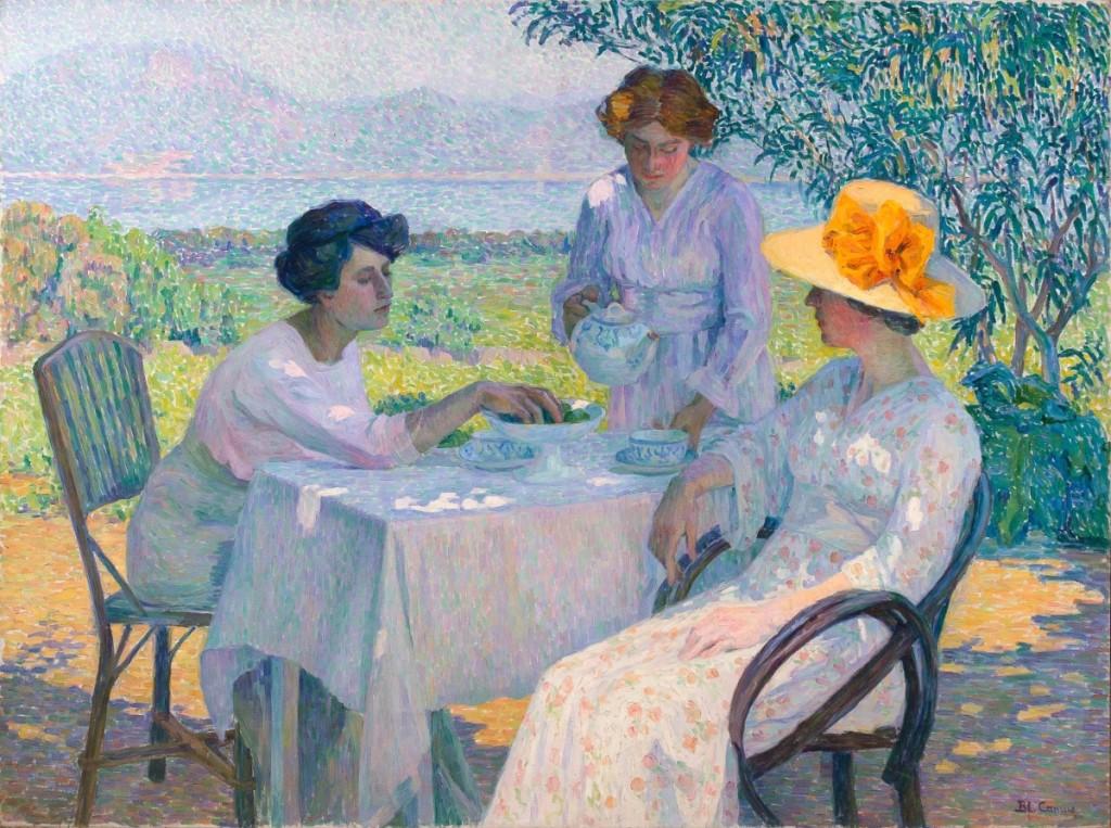 AB La Suite Blanche Camus Painting