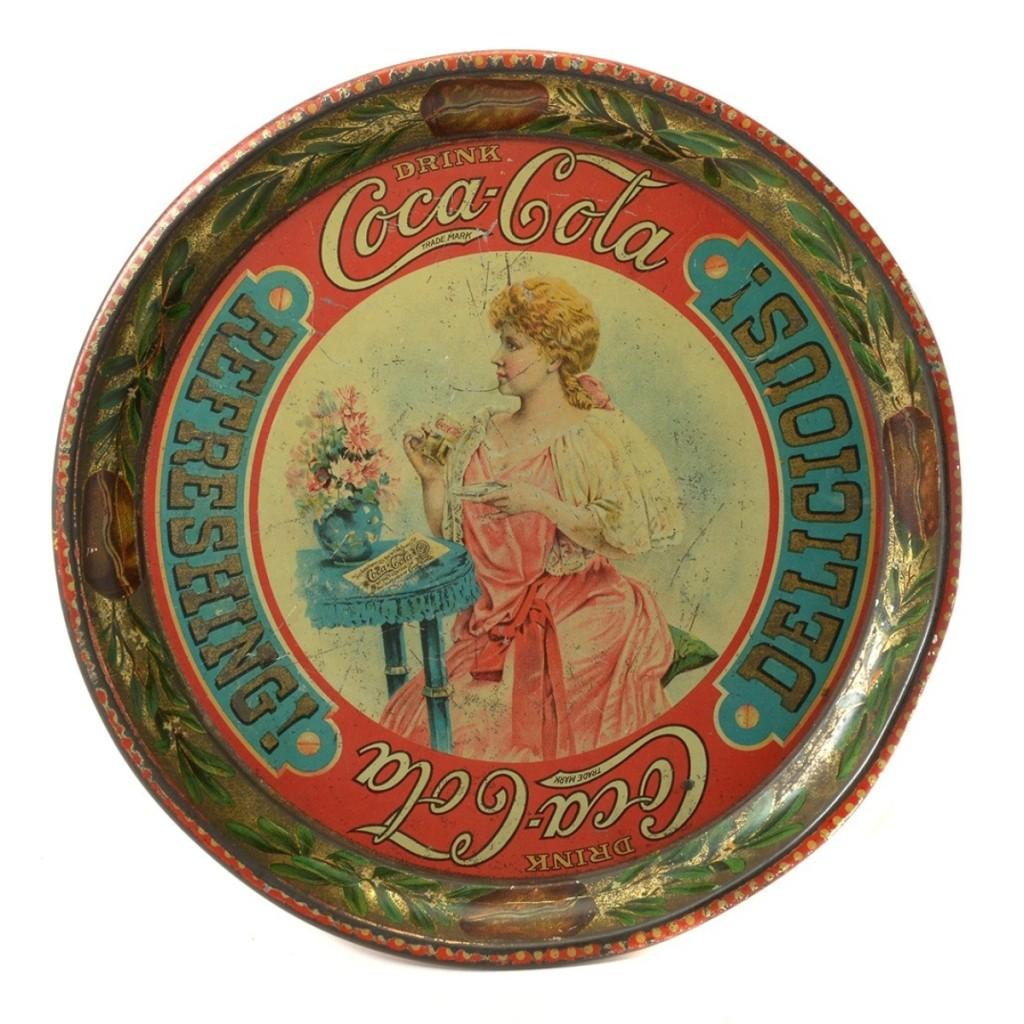 AB Michaan's Coca Cola Tray