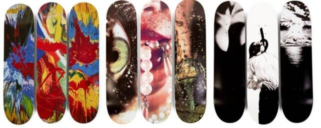 AB Sotheby's Skate Decks