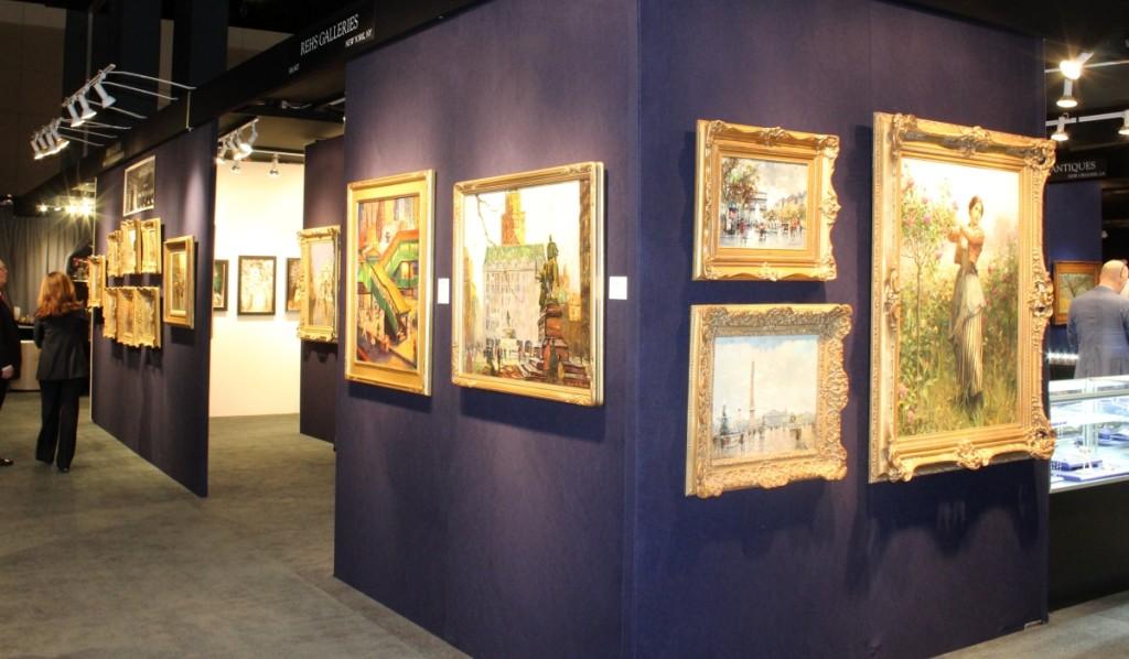Rehs Gallery, New York City.