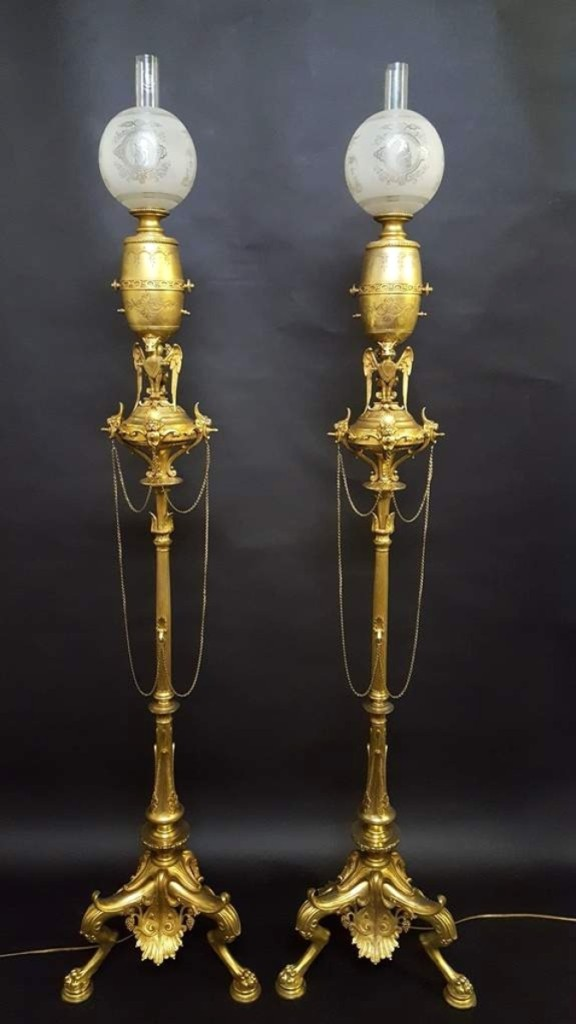 AB Jay Anderson Gas Lamps