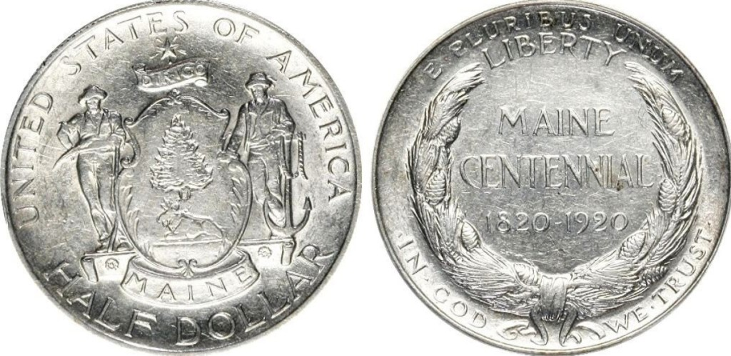 Maine Centennial Half Dollar