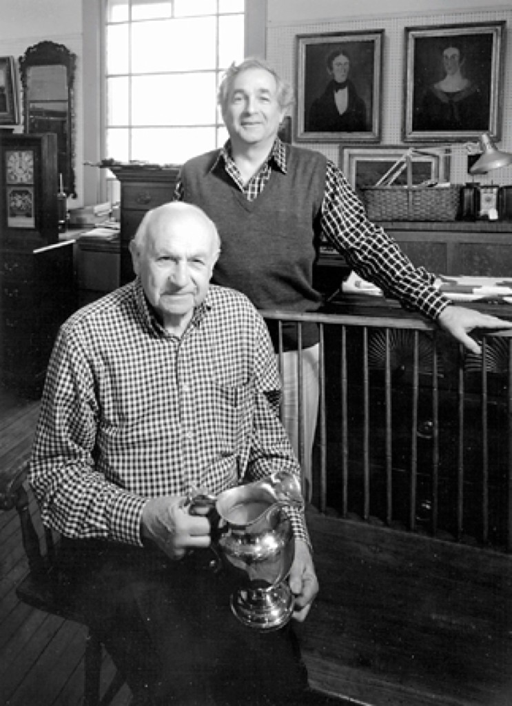 """My son and I feel it's time for professional dealers to be self-regulated and to insist on a better level of knowledge,"" Zeke Liverant, seated in his shop with his son, Arthur, said in 1984."
