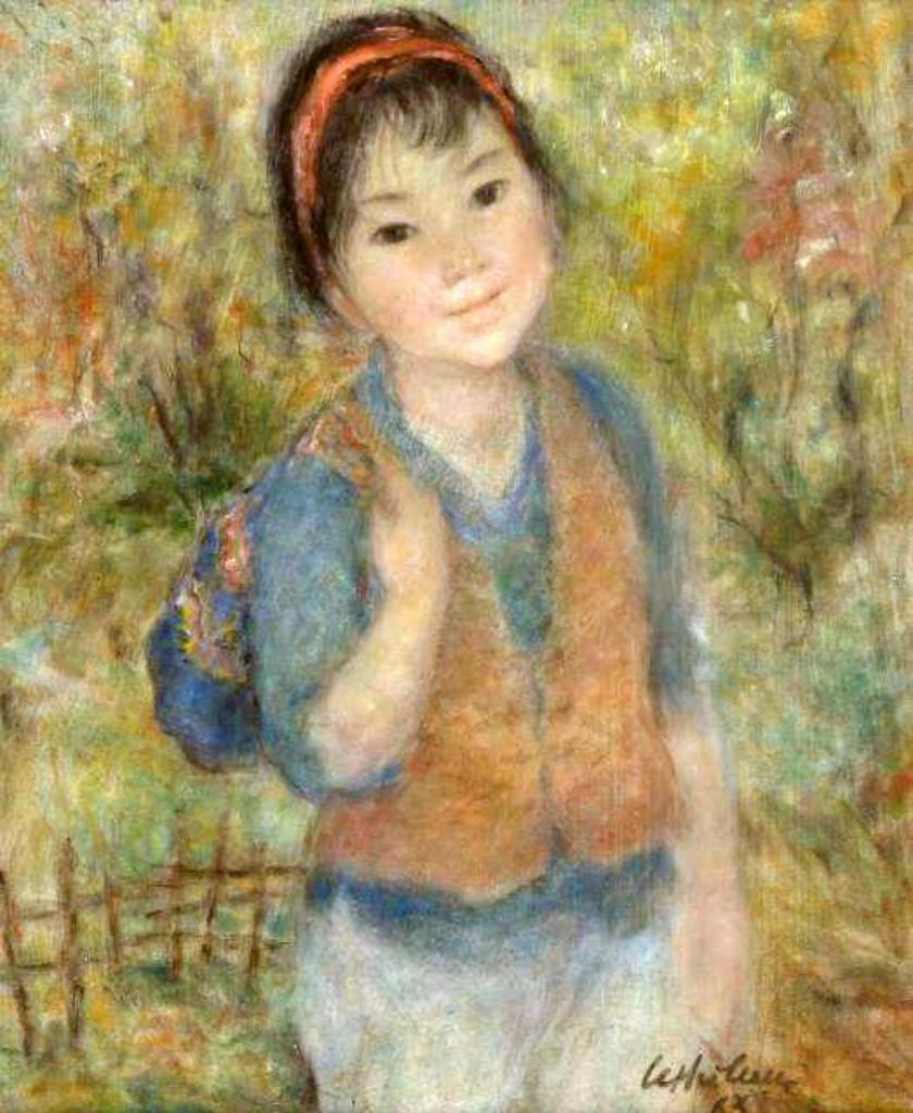 AB Doyle Vietnamese Painting