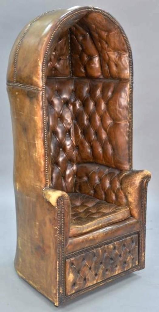 AB Nadeau tufted chair