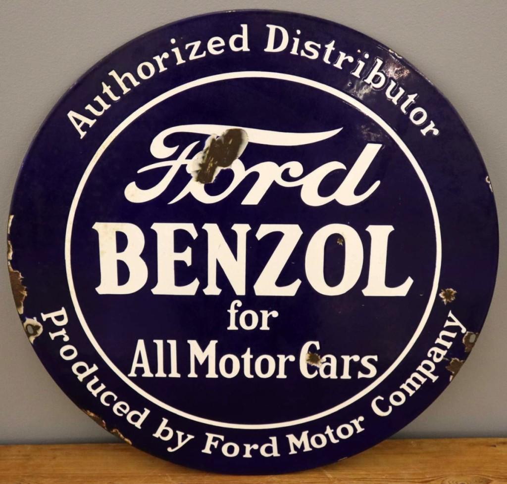 AB Schmidt Ford Sign