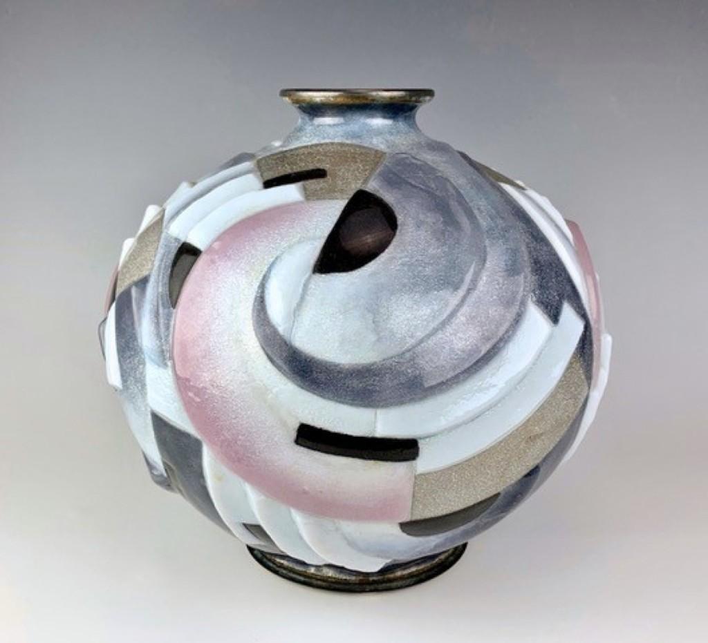 AB Treasureseeker Art Deco Vase