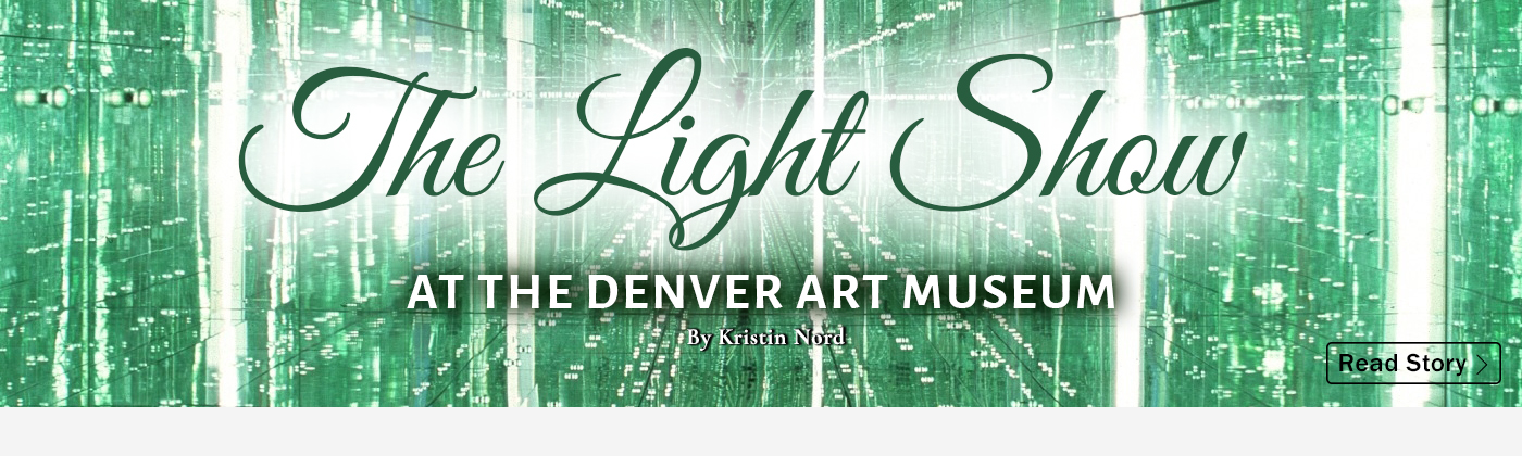 The Light Show At The Denver Art Museum
