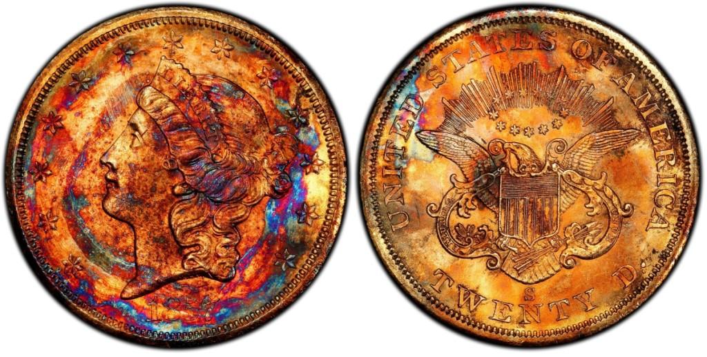 AB Legend Coin Auction Supernova 1857-S