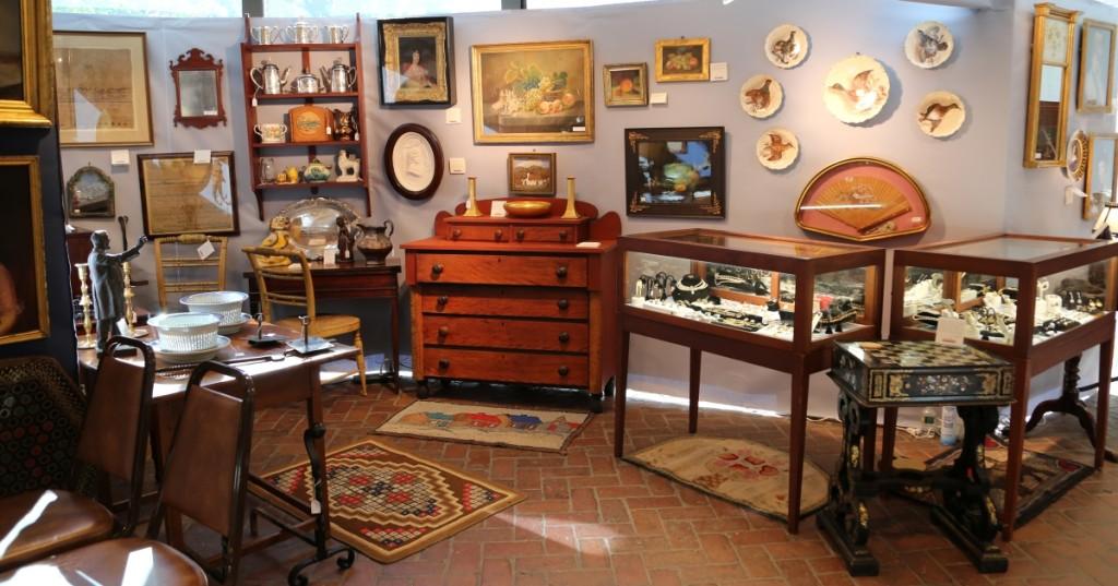 W.M. Schwind Jr Antiques & Fine Art, Yarmouth, Maine.