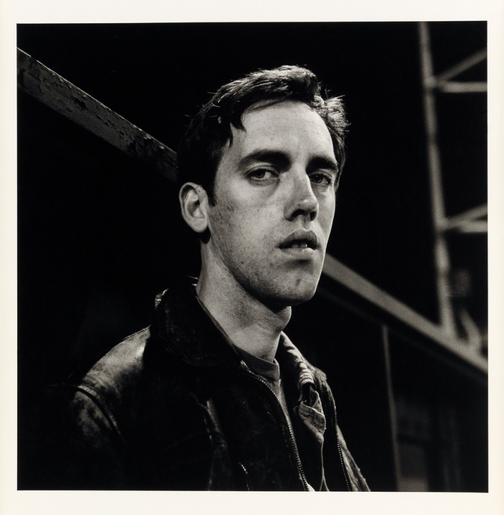 "The top lot in the sale was Peter Hujar, ""David Wojnarowicz: Manhattan-Night (III),"" silver print, 1985. Estimated at $15/25,000, it sold to a private collector on the phone for $106,250 and set a new auction record for any work by the artist."