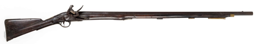 Pattern 1769 land service musket, Board of Ordnance, London or Birmingham, England, circa 1769–75. Walnut, iron, steel and brass. Museum Purchase. Photo courtesy of The Art Museums of Colonial Williamsburg.