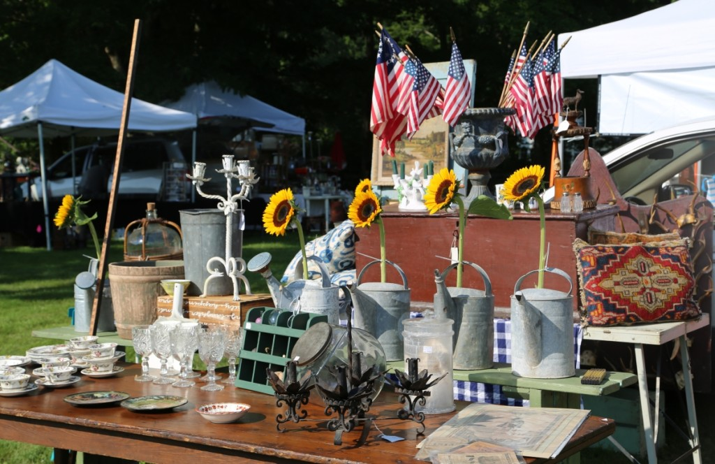 A patriotic display was put on by Charlie Williams, Accord, N.Y.