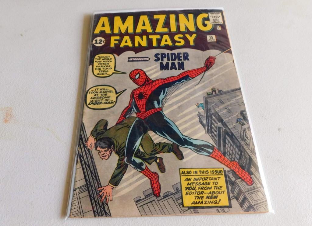 AB Bodnar's Spider-Man Comic