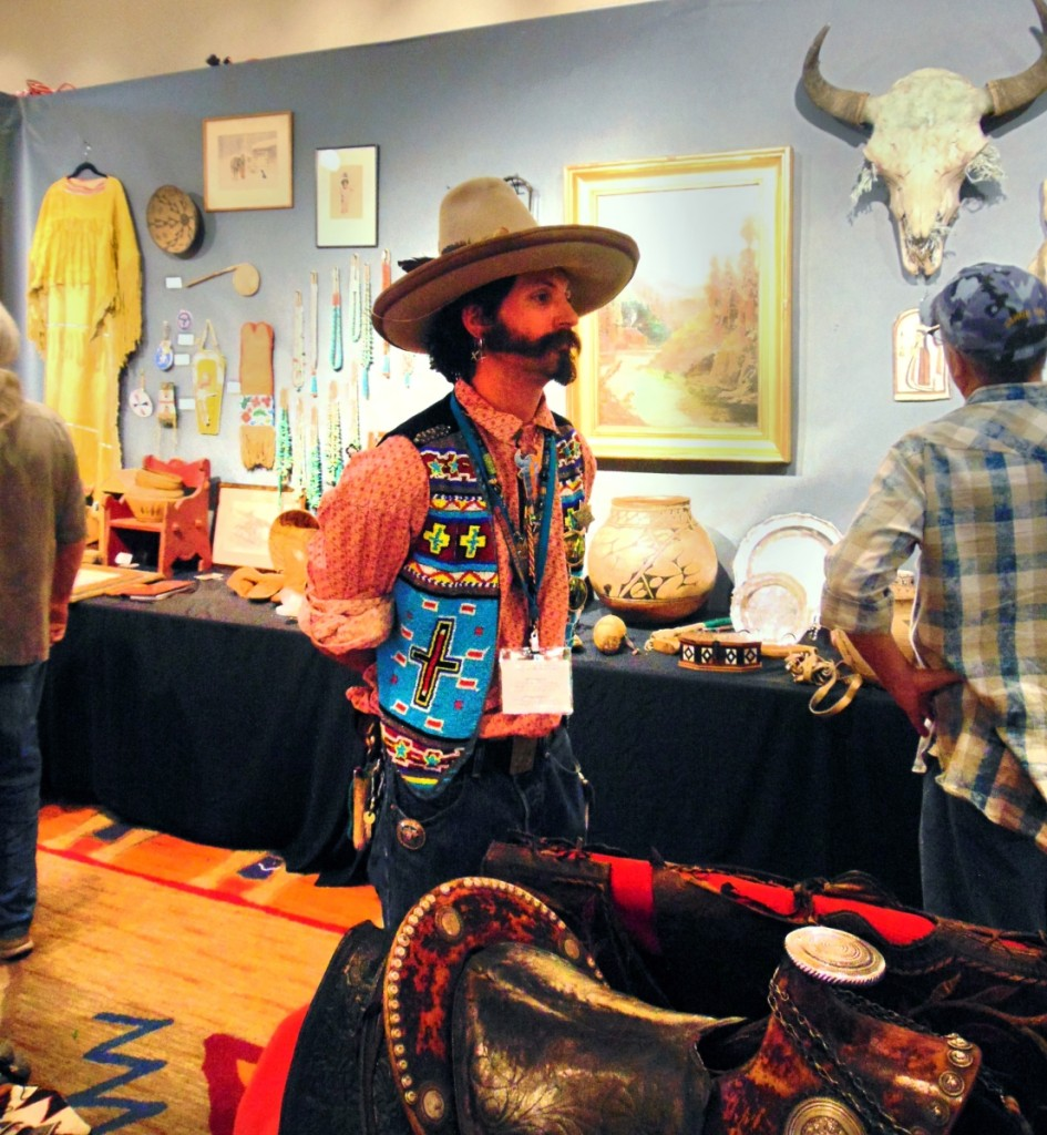Exhibitor Taylor Tomlin, with Jeff Hengesbaugh's Calabaza.