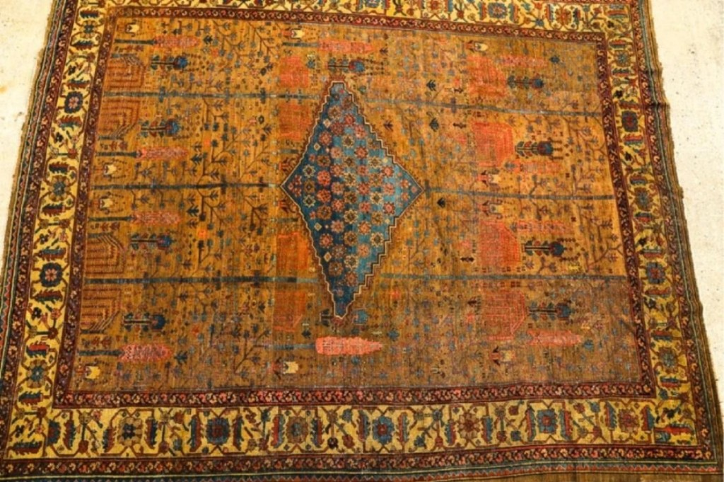 "The catalog described this Persian Bakshaish Oriental carpet as ""exceptional"" and enough bidders recognized its worth. It had one of the higher estimates in the sale ($ ,000) but sold for $10,800, which was enough for it to get second-place honors."
