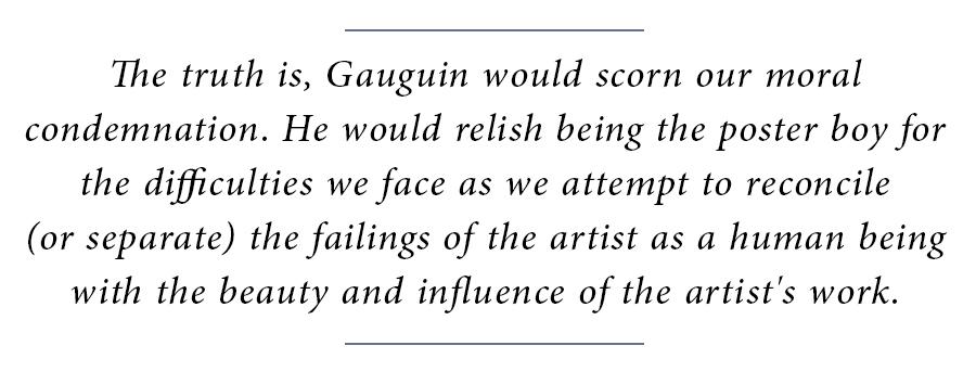 Gauguin Block Quote