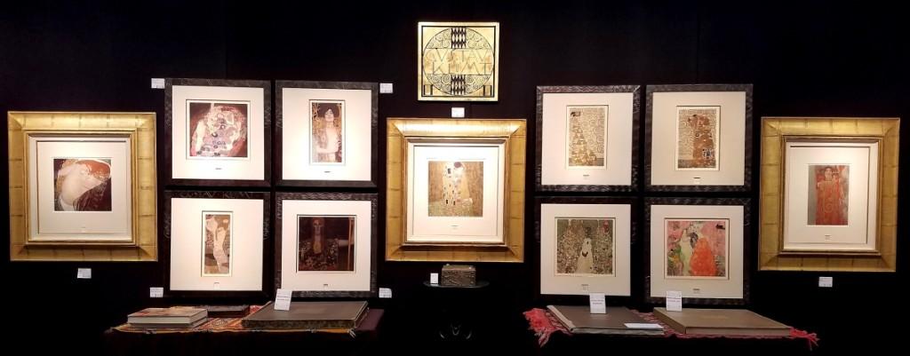 Galerie Fledermaus, Chicago, Ill. Works on paper by Gustav Klimt.